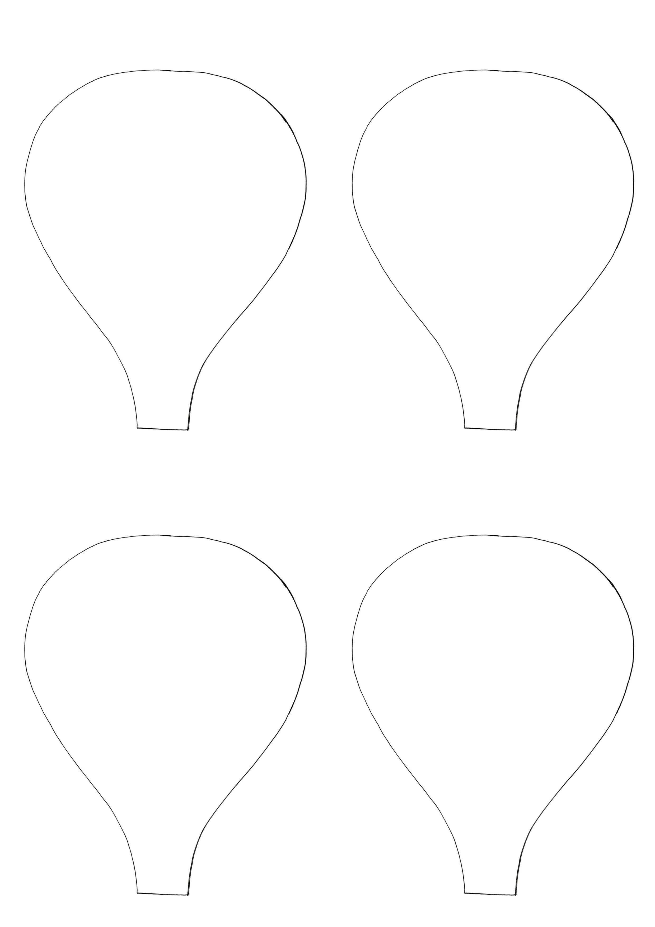 Images For Hot Air Balloon Template Heissluftballon Party Toilettenrolle Basteln Luftballons