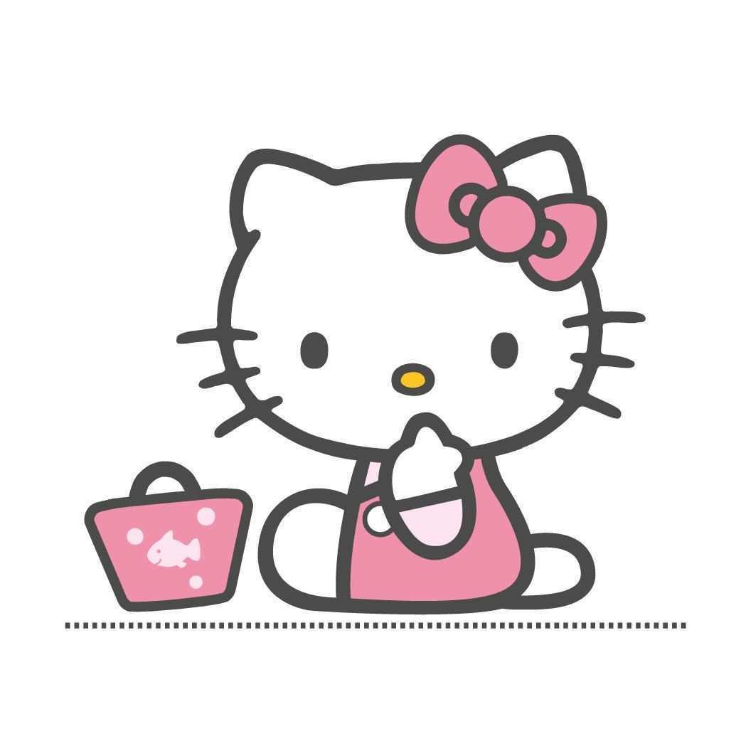 Printable Hello Kitty Imprimible Manualidades