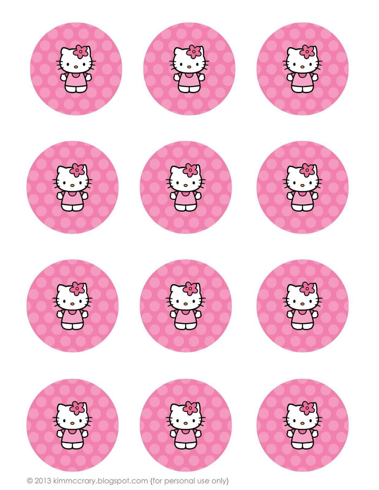 All Things Simple Simple Celebrations Hello Kitty Party Printables Hello Kitty Party Hello Kitty Birthday Hello Kitty Birthday Party