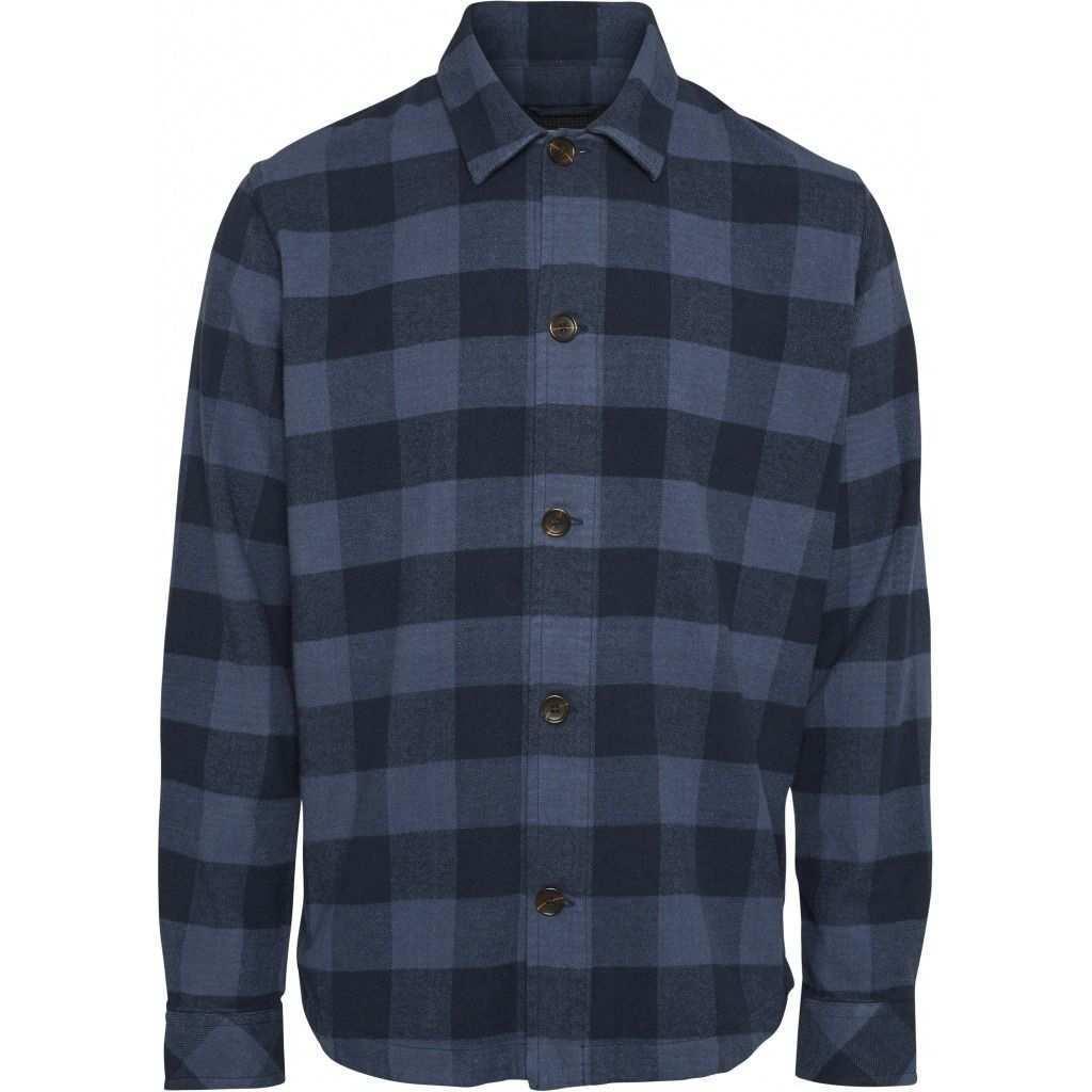 Brushed Checked Flannel Hemd Gots Vegan Hemd Herrenhemd Shirts