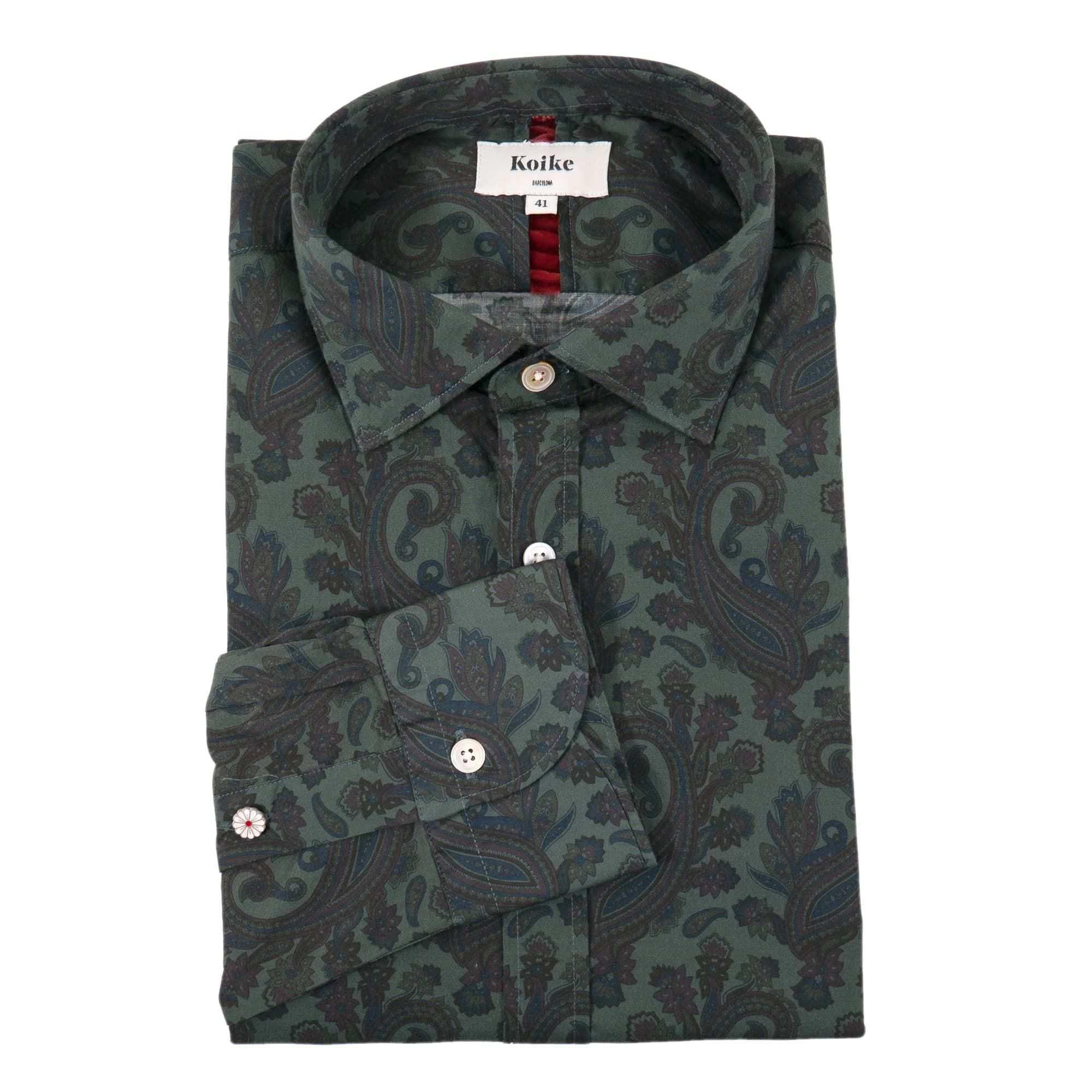 Koike Paisley Hemd In 2020 Hemd Paisley Manner Hemden