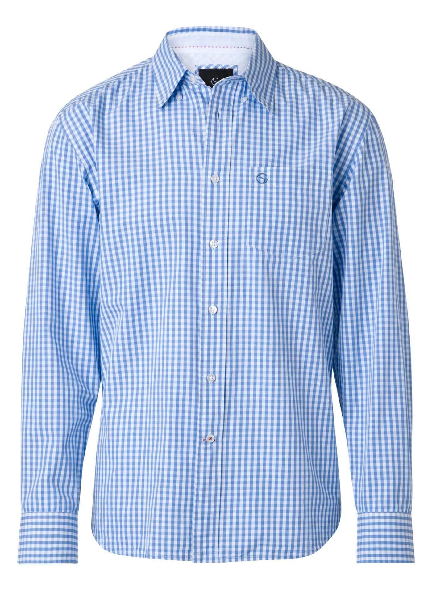 Gentlemen Selection Men S Fashion Kariertes Langarmhemd Hse24 Clothing Shirt Hemd Herren Mode Mode