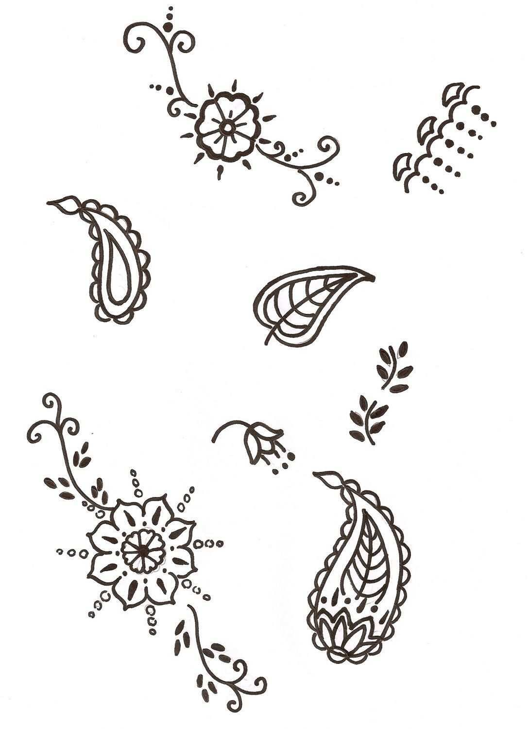 Henna Patterns These Are A Few Very Simple Henna Patterns Just Very Basic Ide Henna Patterns These Are A Fe Modeles De Henne Tatouage Au Henne Henne