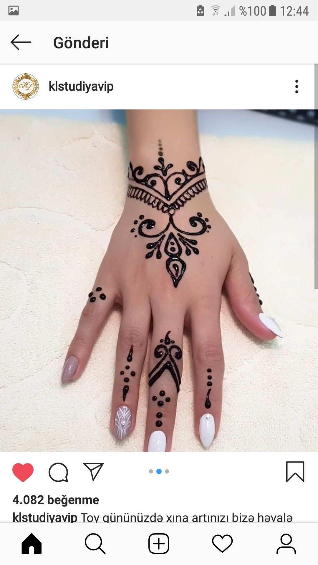 Henna Tattoo Designs Simple Simple Henna Tattoo Henna Tattoo Hand