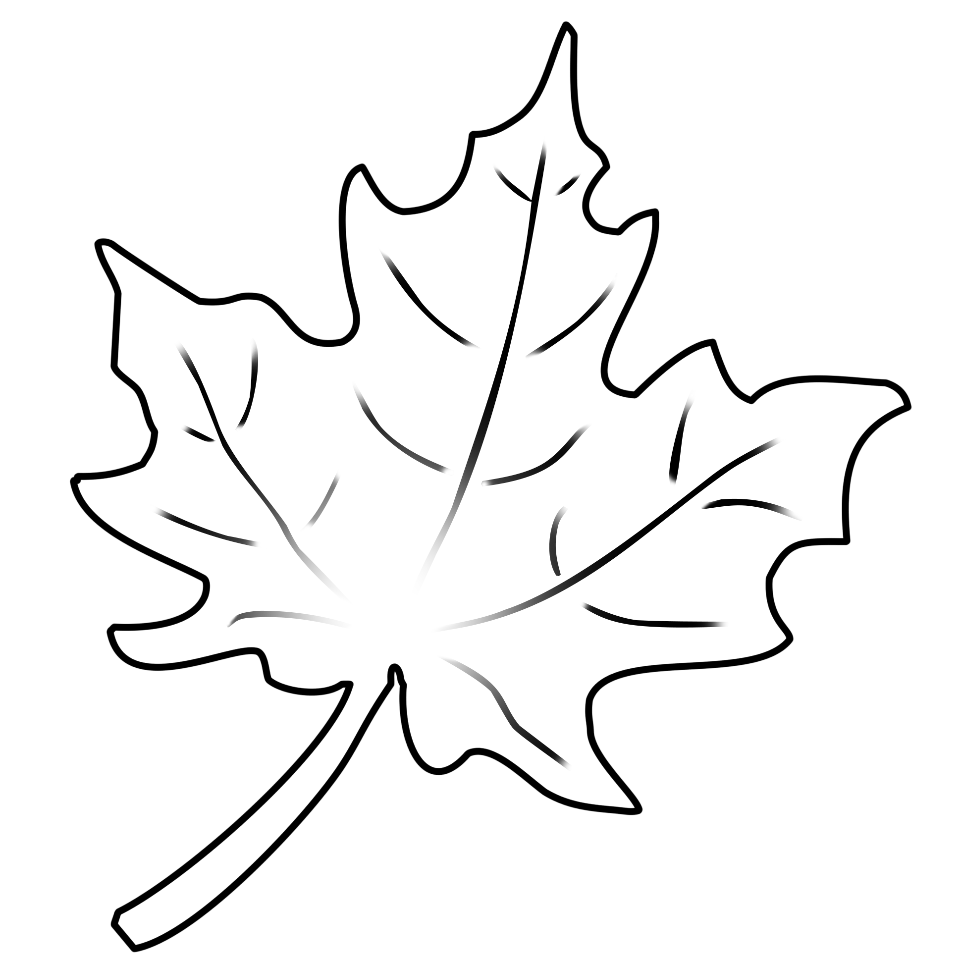 Herbstblaetter Vorlagen 2 Herbstblatter Vorlagen Blattzeichnung Herbst Blatter