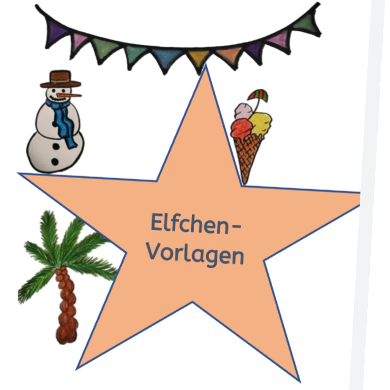 Vorlagen Ferienelfchen Unterrichtsmaterial Im Fach Deutsch Vorlagen Ferien Sommer Unterrichtsmaterial