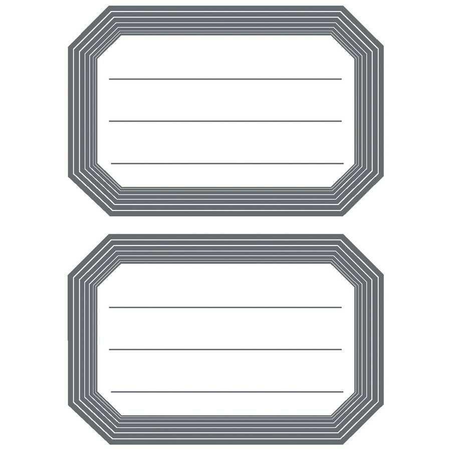 Etiquettes Pour Livres Bord Gris Ray Petit Paquet 5719 In 2020 Druckvorlagen Coole Ideen Vorlagen