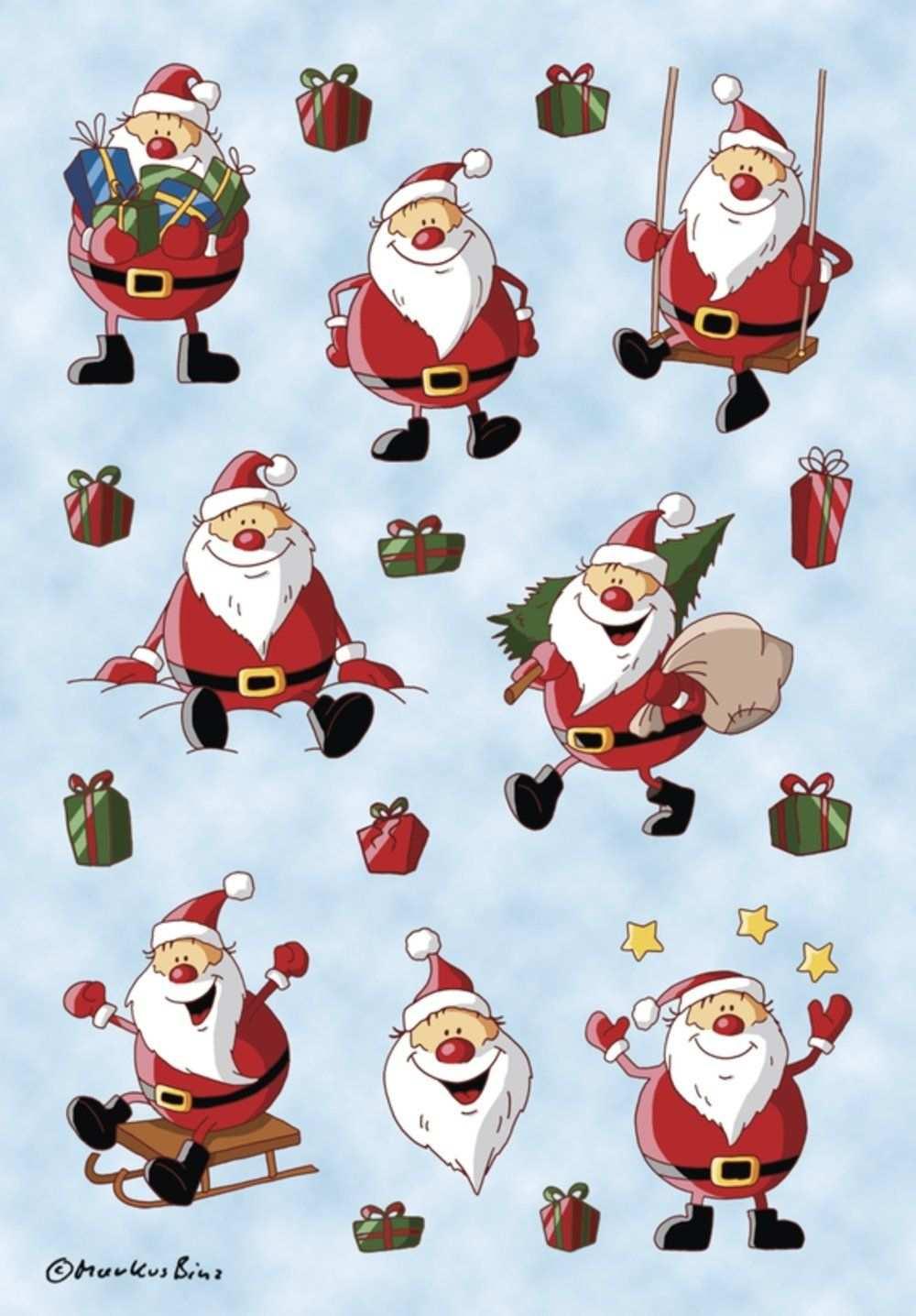 Herma Gmbh Sticker Weihnachtsmann Hersteller Herma Amazon De Elektronik Weihnachtsbilder Weihnachtskunst Verpackung Weihnachten