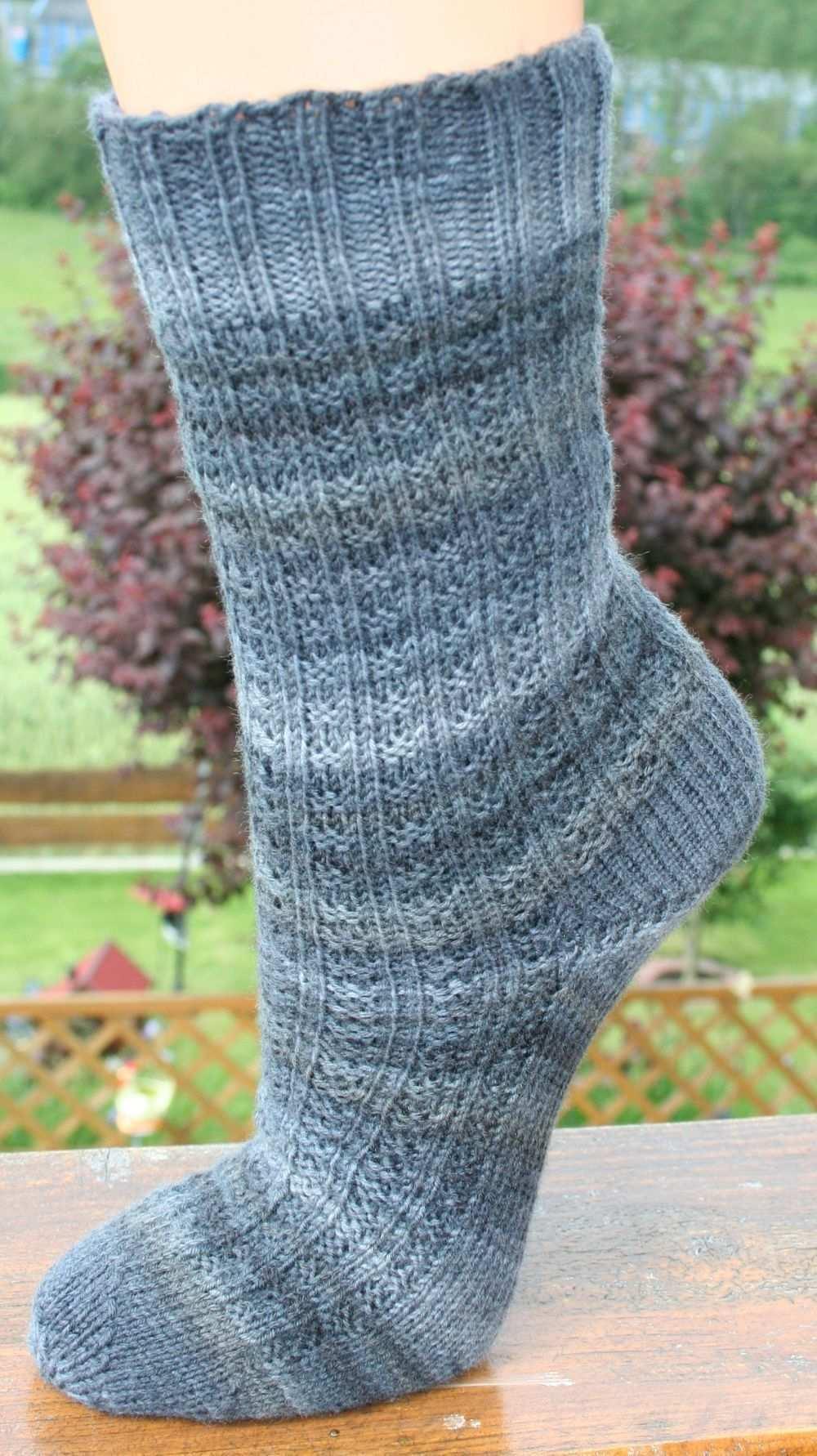 Waffelmuster Juni 17 Socken Stricken Muster Socken Stricken Gemusterte Socken