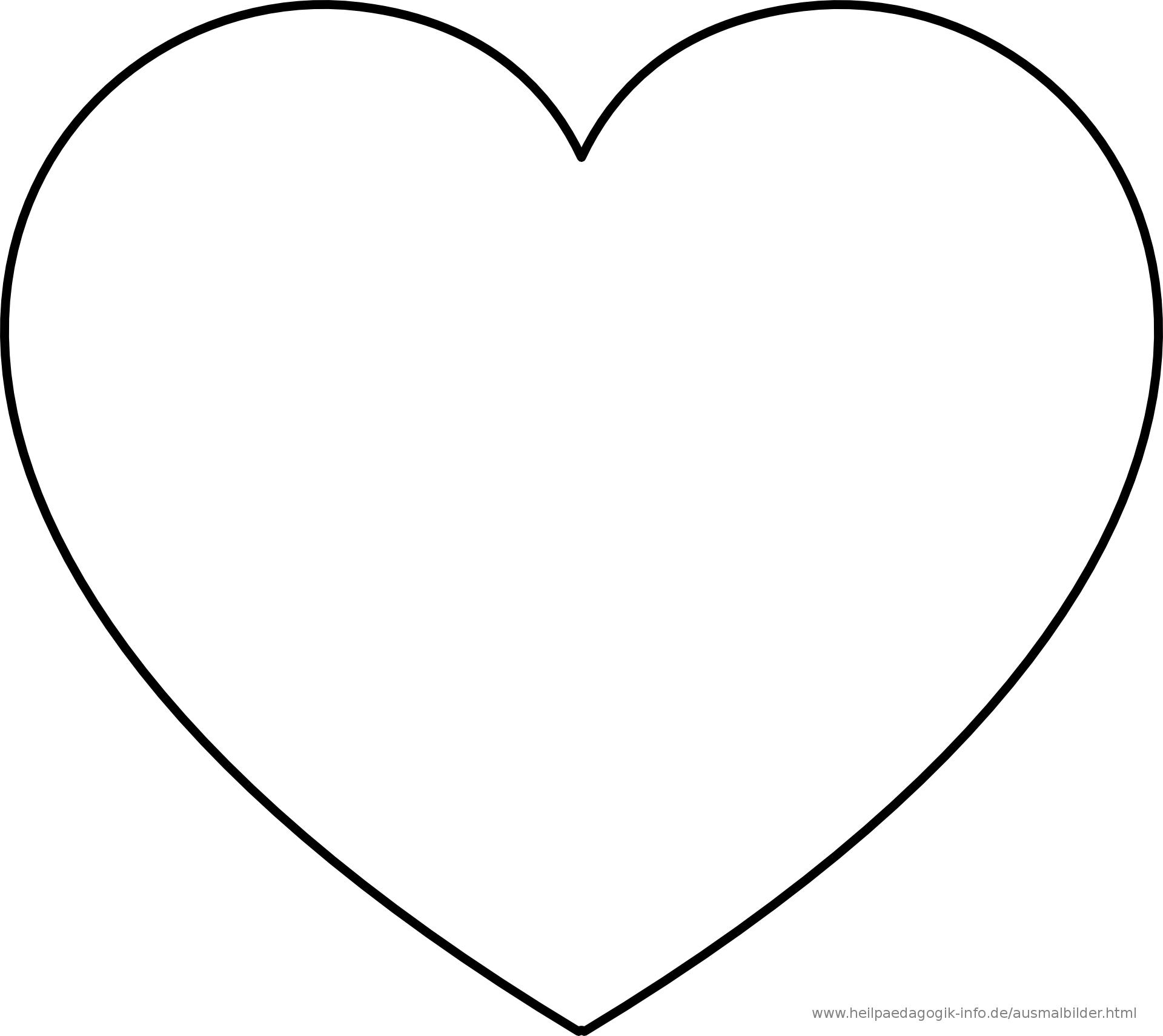 Pin Von Amber Auf Vicky Herz Ausmalbild Herz Vorlage Herzschablone