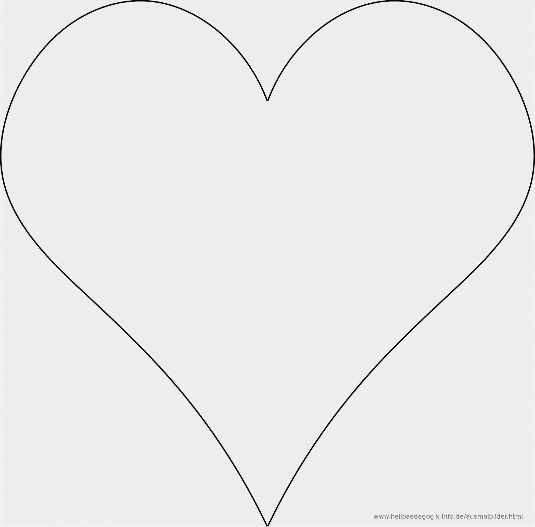 Annehmbar Herz Vorlage Din A4 Zum Ausdrucken Herz Vorlage Vorlagen Ausdrucken