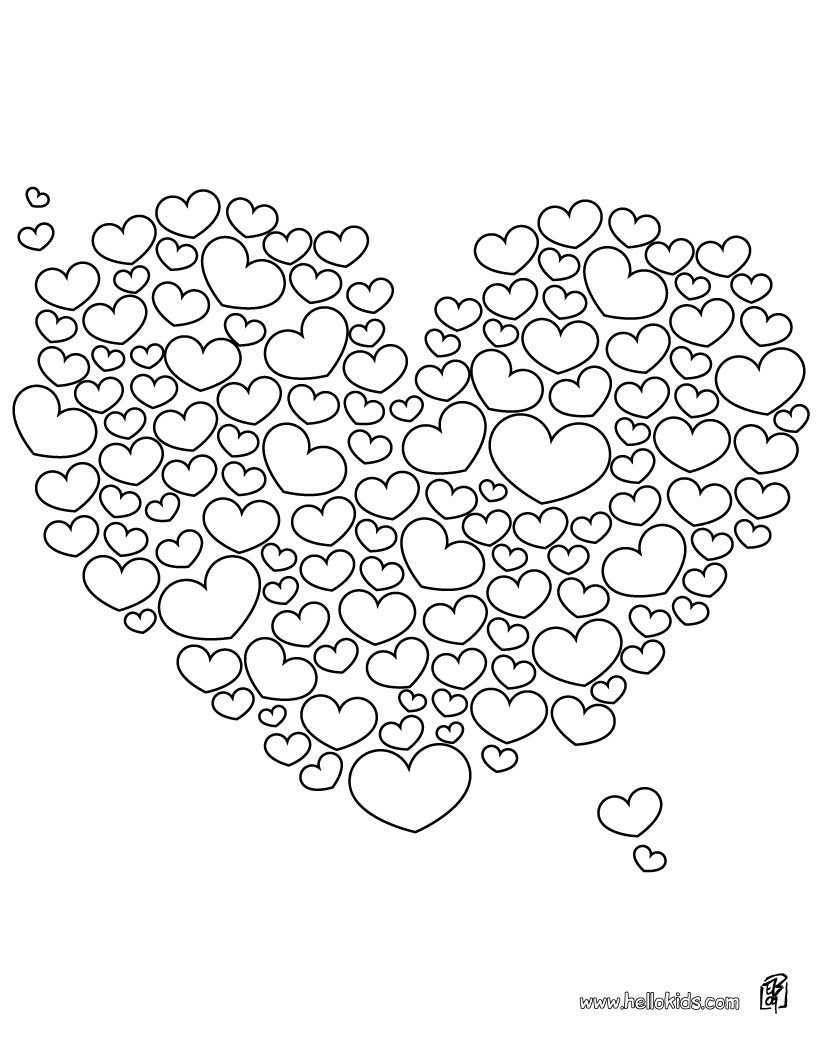 Free Valentine Pictures To Color Valentine Heart Coloring Pages Free Heart Coloring Pages Valentine Coloring Pages Valentine Coloring
