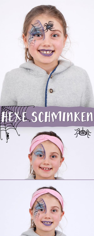 Hexe Schminken Einfache Anleitung In 5 Schritten Familie De Hexe Schminken Halloween Schminken Kinder Fasching Hexe Schminken