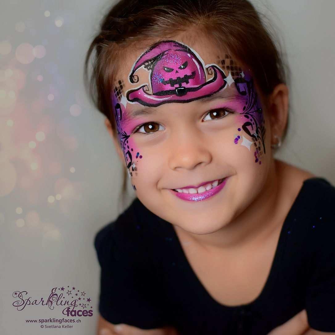 Kinderschminken Hexe In 2020 Kinder Schminken Kinderschminken Schminken
