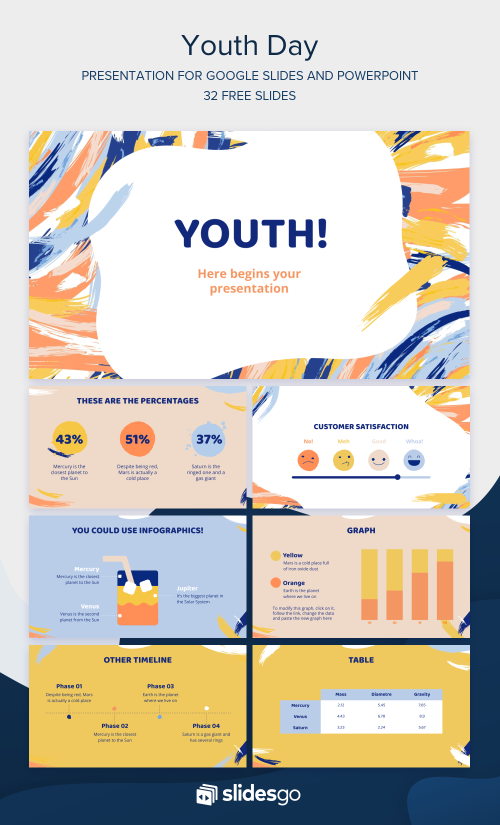 Youth Day Free Template Powerpoint Presentation Design Presentation Slides Templates Powerpoint Design Templates