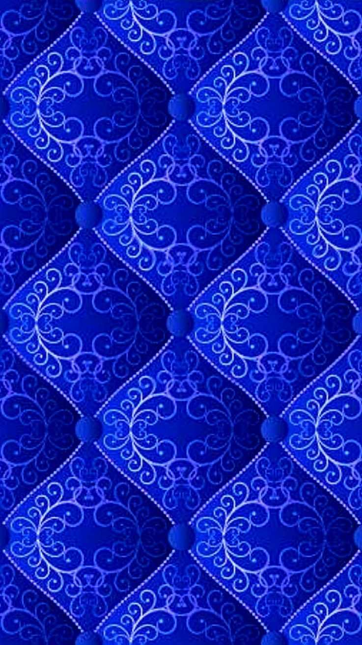 Blue Julianne Mcpeters No Pin Limits Blau Muster Farbe Blau Blau