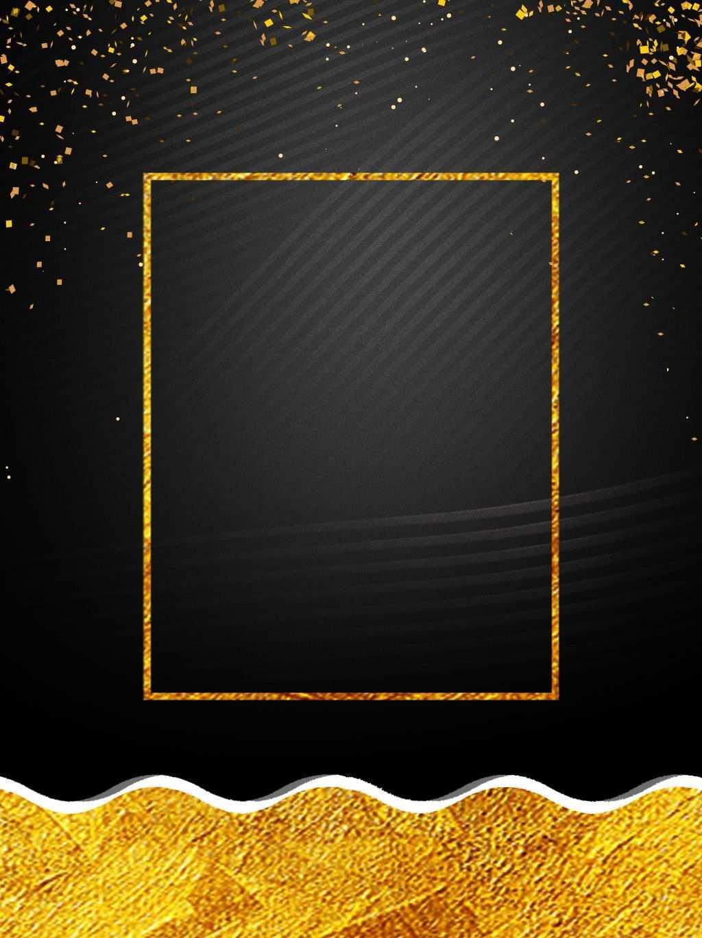 Kreatives Plakathintergrunddesign Des Schwarzen Goldwindes Kreative Plakate Hintergrund Design Festival Hintergrund