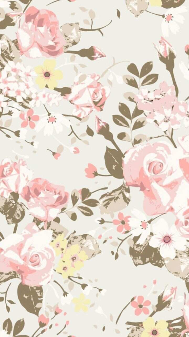 Pin By Juli Torres On Design Floral Wallpaper Kawaii Wallpaper Flower Art