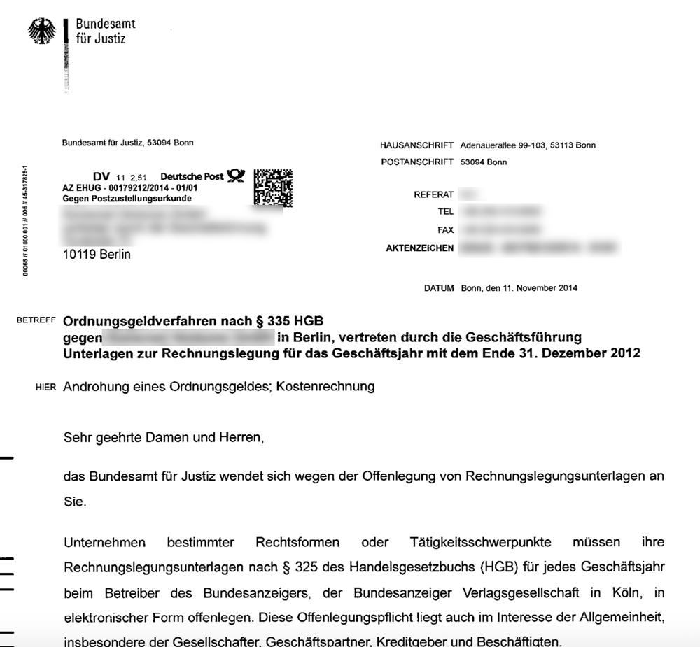 Jahresabschluss Veroffentlichung Der Gmbh Im Bundesanzeiger Gmbh Guide De