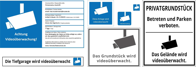 Hinweisschild Dsgvo Uebersicht Produkte Meides