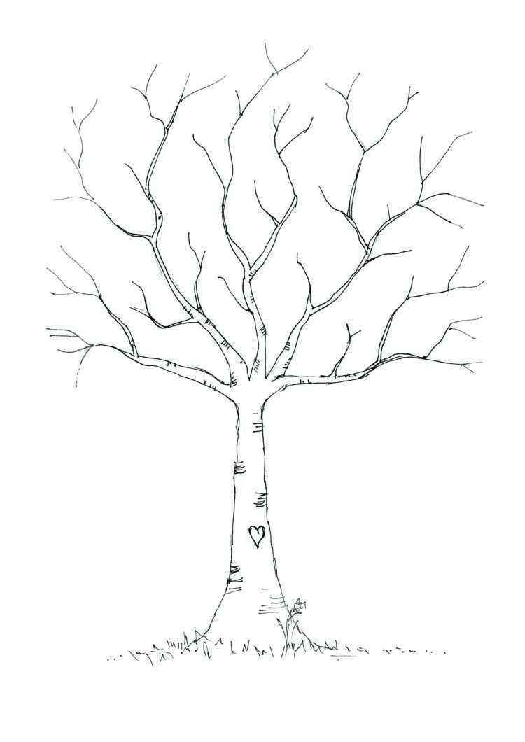 Eine Fensterdeko Mit Kreidemarker Erfolgreich Selber Machen Mit Diesen Tipps Vorlagen Baum Vorlage Fingerabdruck Baum Gastebuch Baum