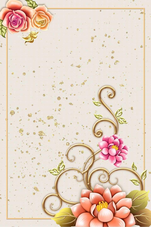 Europaisches Muster Hochzeit Hochzeit Poster Hintergrundmaterial Hochzeitseinladung Poster Rose Malen Hochzeitsposter