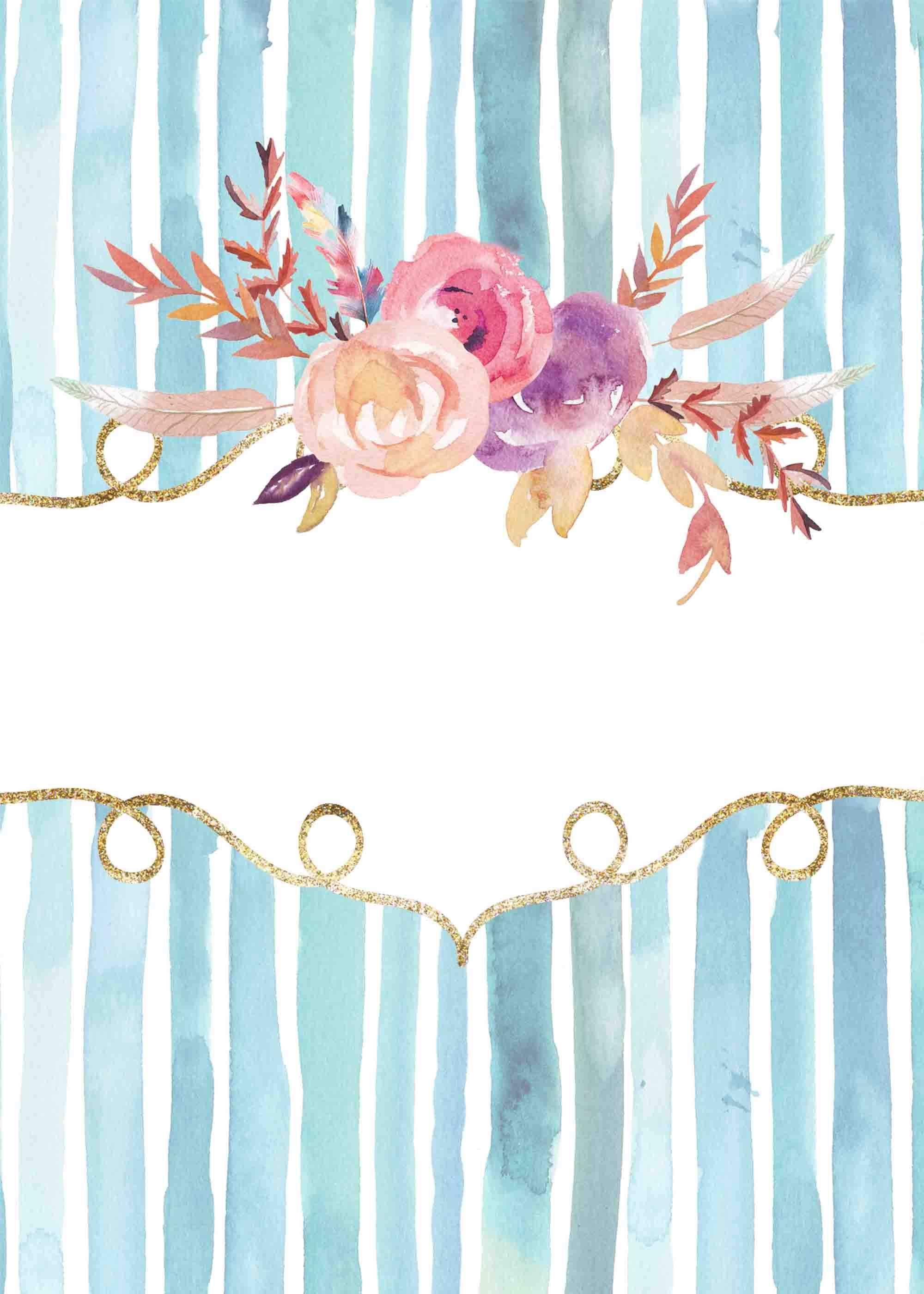 Florale Blume Frame Design Hintergrund Wasserfarbenblumen Rosenzeichnungen Blumen Hintergrunde