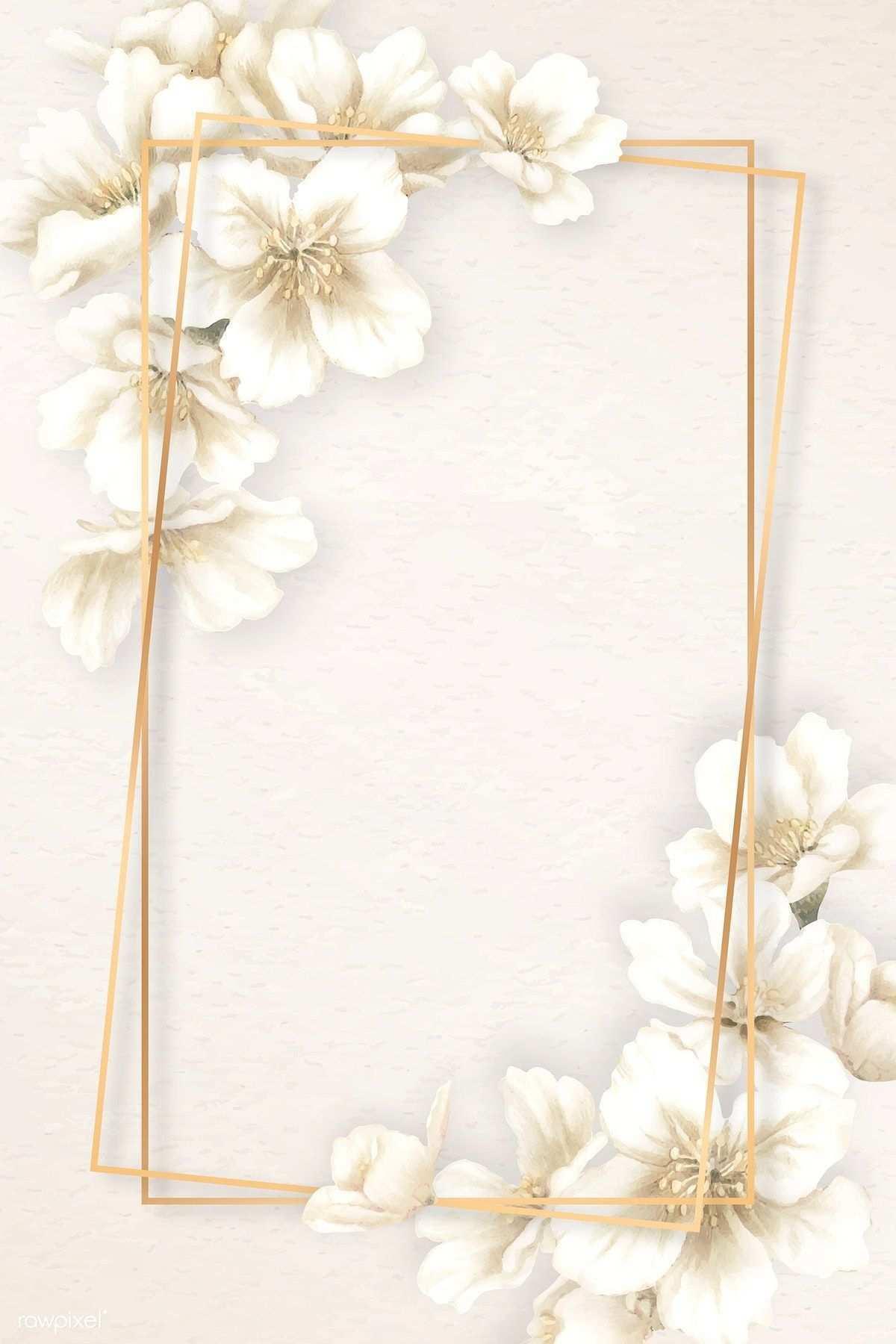 Download Premium Vektor Von Rechteck Kirschblute Rahmen Vektor 936940 Nail S In 2020 Pastell Hintergrund Hintergrundmuster Hintergrundbilder Blumen