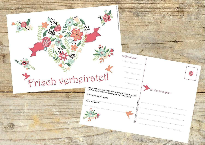 Ballonflugkarten Hochzeit Frisch Verheiratet 50 Stuck Extra Leichte Flugkarten Fur Weiten Flug Geloc Hochzeitsspiele Hochzeit Spiele Luftballons Hochzeit
