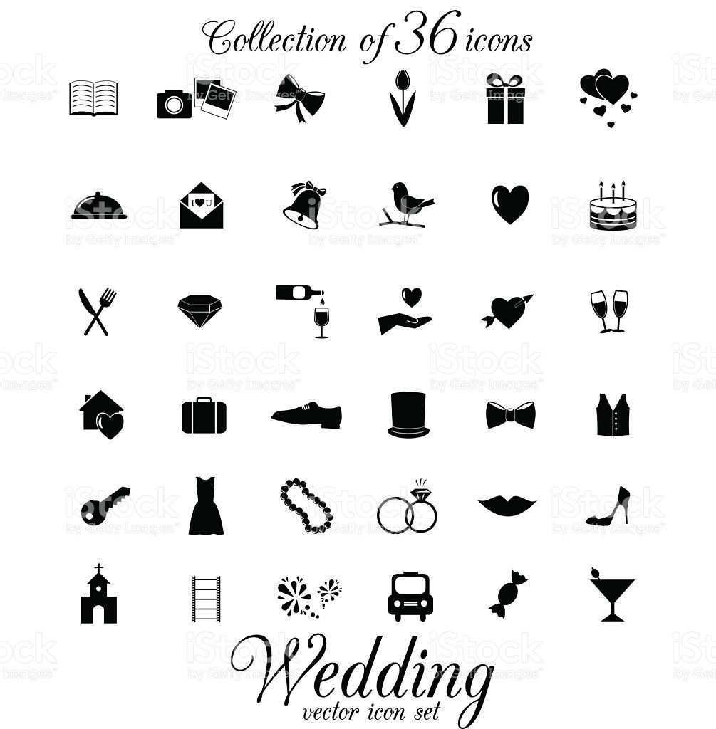 Hochzeit Symbol Isoliert Auf Weissem Hintergrund Lizenzfreies Vektor Illustration Symbol Hochzeit Hochzeit Silhouette Hochzeitssymbole