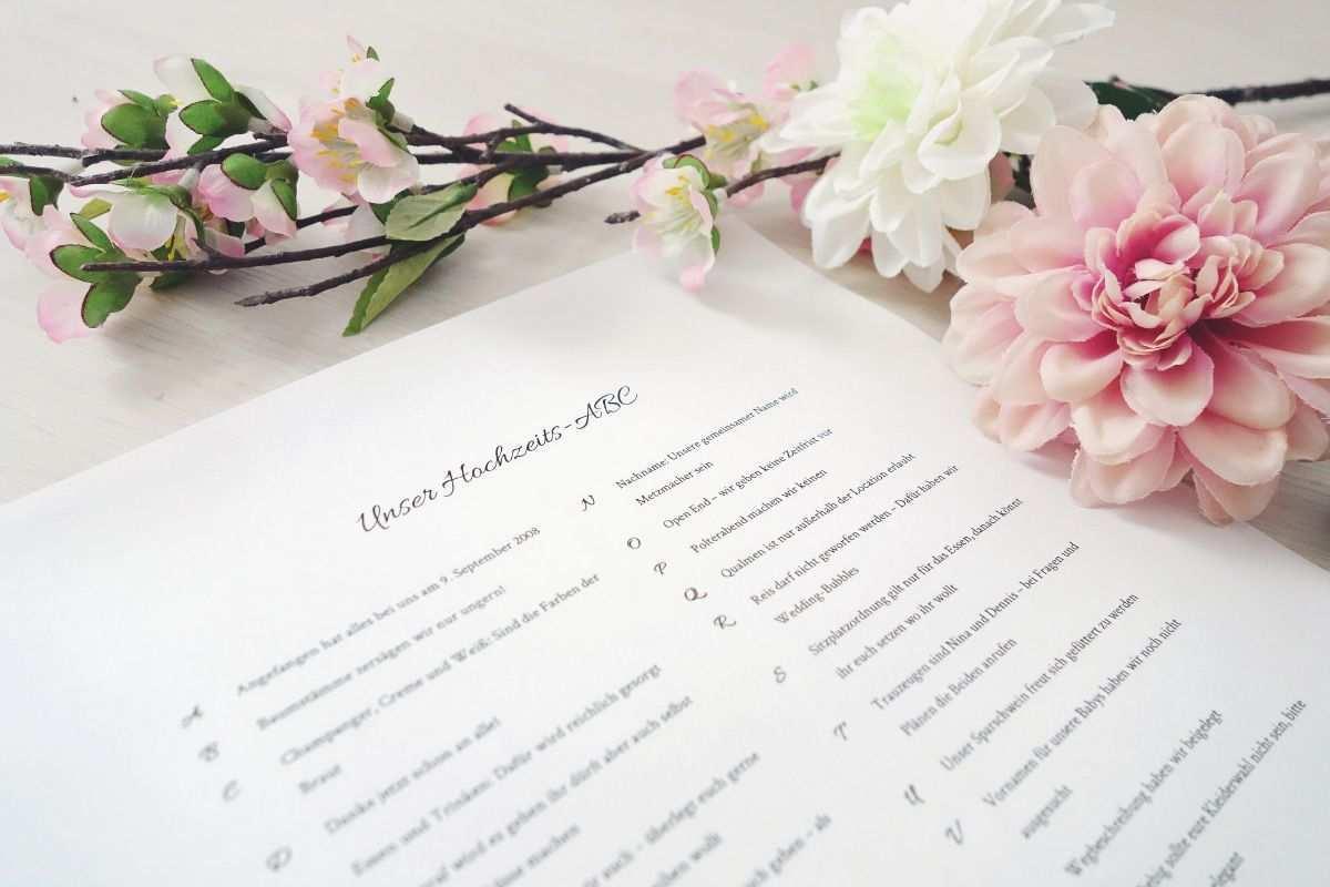 Mit Dem Hochzeits Abc Konnt Ihr Euren Gasten Einige Informationen Rund Um Eure Hochzeit Mitteilen Hier Hochzeits Abc Papeterie Hochzeit Ideen Fur Die Hochzeit