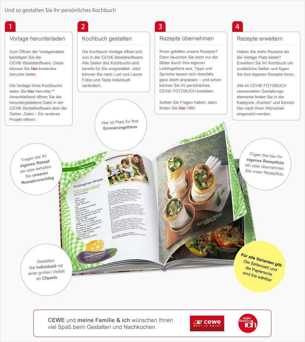 Ihr Personliches Kochbuch Kochbuch Selbst Gestalten Kochbuch Vorlage Hochzeitsbuch