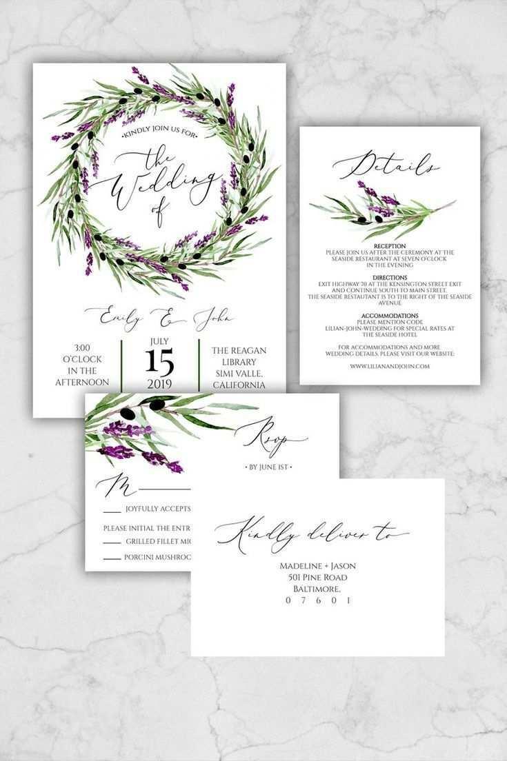 Lavendel Hochzeit Einladung Suite Vorlage Olive Kranz Hochzeitseinladung Zum Ausdruck Lavendel Hochzeit Hochzeitseinladungen Zum Ausdrucken Hochzeitseinladung