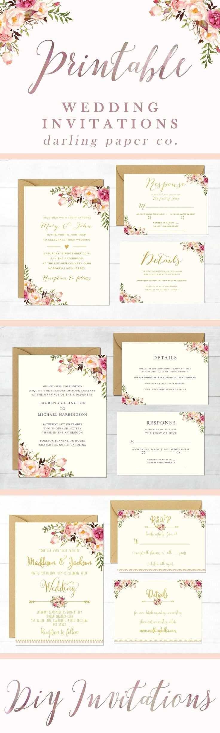 Druckbare Hochzeitseinladungen Vorlagen Druckbare Hochzeitskarten Ele Coole Hochzeitseinladungen Hochzeitseinladungen Zum Ausdrucken Blumenhochzeitseinladungen