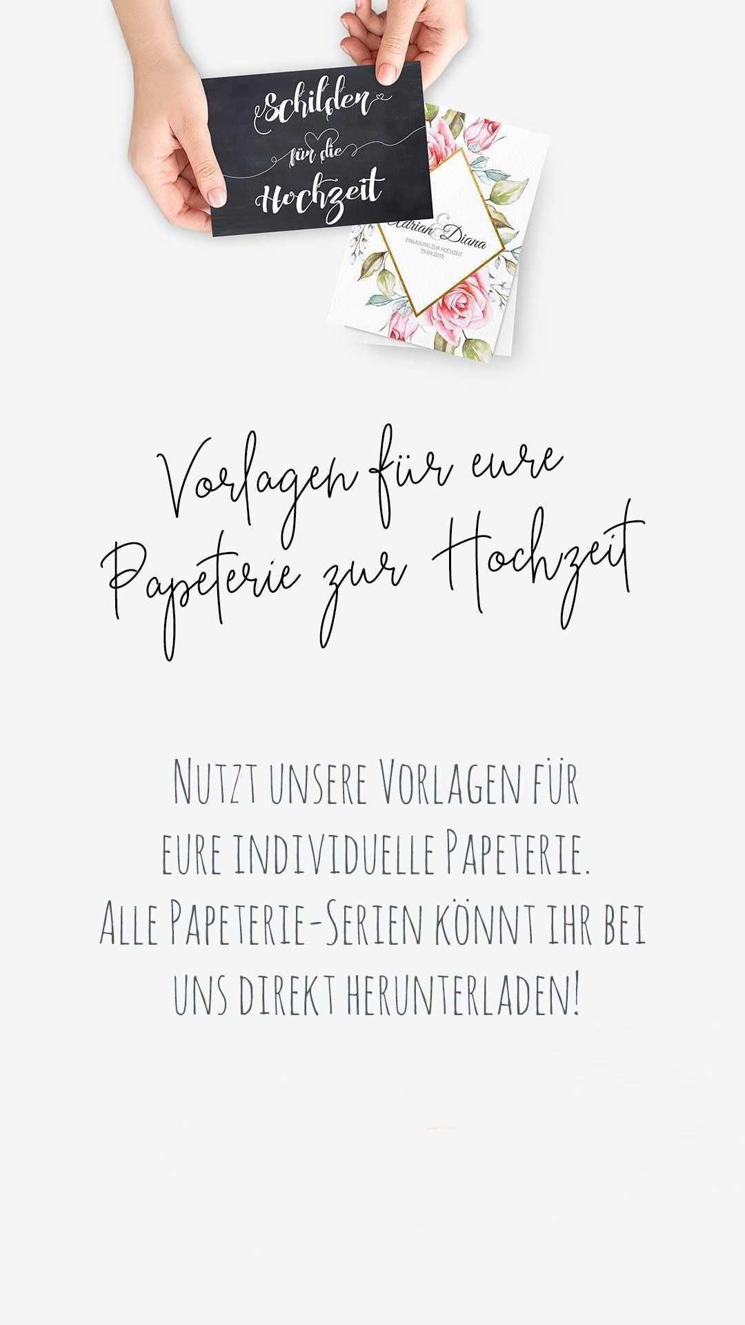Kostenlose Vorlagen Fur Eure Papeterie Zur Hochzeit Hochzeit Freebies Karte Hochzeit Diy Hochzeit Vorlagen