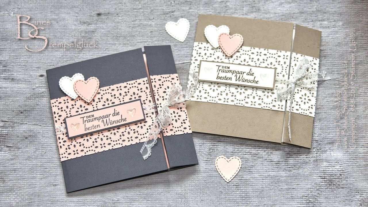 Hochzeitskarte Garten Der Liebe Selbst Basteln Wedding Card Stampin Up Youtube Karte Hochzeit Hochzeitskarten Karten Basteln Hochzeit