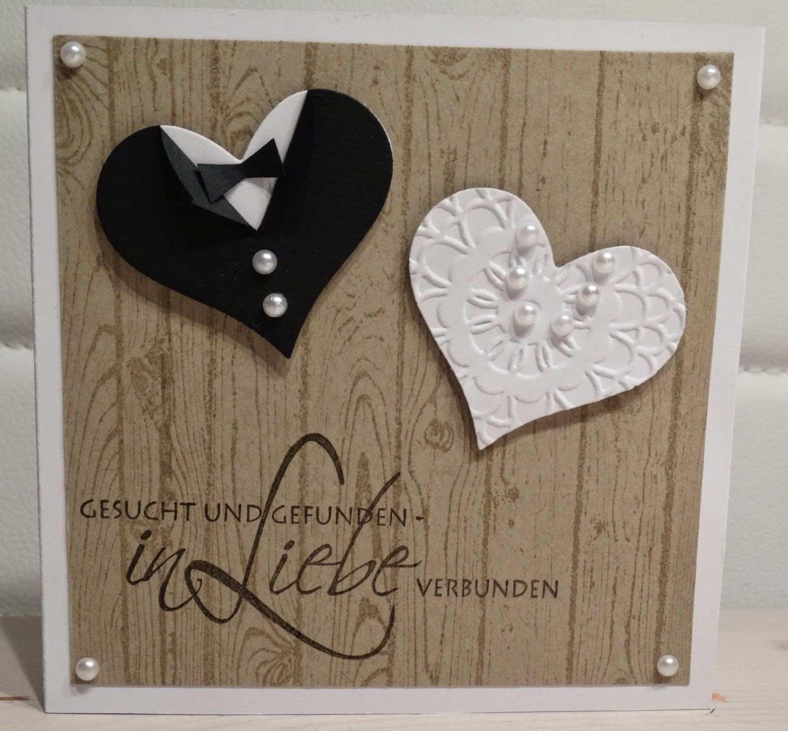Handmade With Love Karten Basteln Hochzeit Karte Hochzeit Hochzeitskarte Basteln