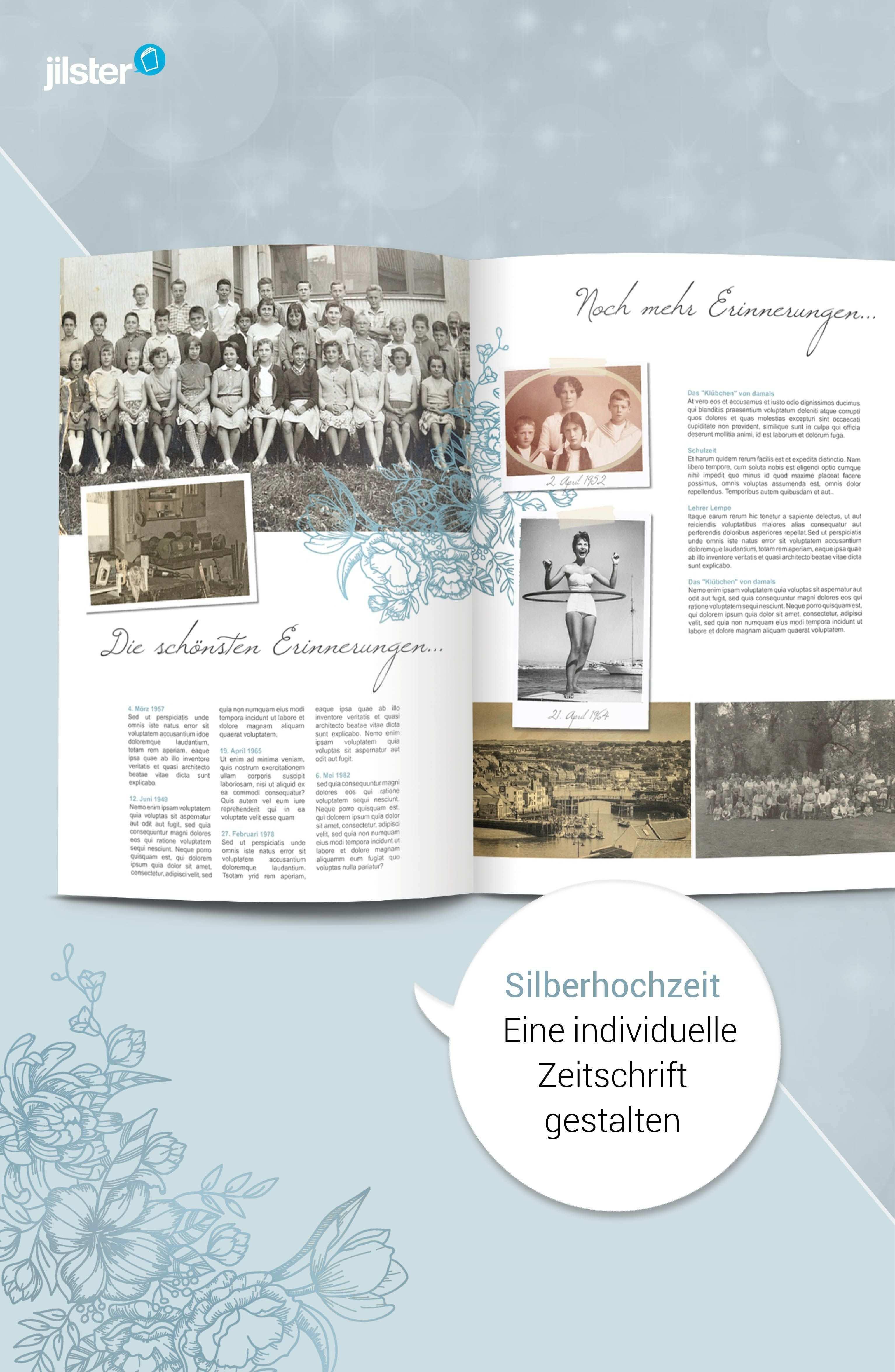 Silberhochzeit Zeitung Als Geschenk Gestalten Jilster Blog Silberhochzeit Hochzeitszeitung Gestalten Hochzeitszeitung