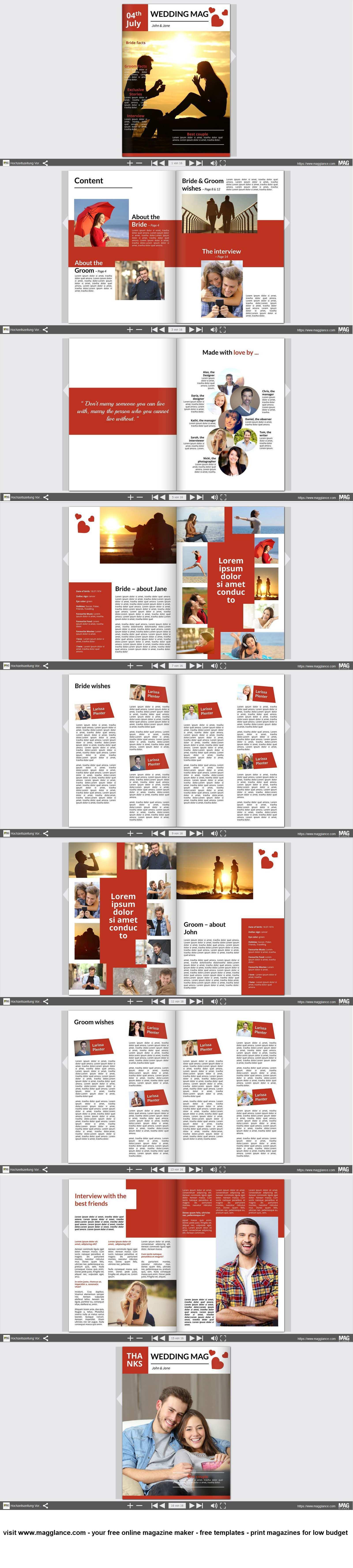 Hochzeitszeitung Kostenlos Online Erstellen Und Gunstig Drucken Unter Https De Magglance Hochzeitszeitung Geburtstagskarten Online Lustige Geburtstagskarten