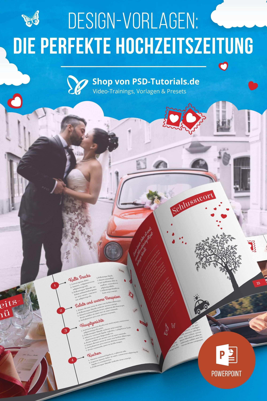 Hochzeitszeitung Vorlagen Fur Powerpoint Indesign Hochzeitszeitung Hochzeitsdetails Hochzeitszeitung Ideen