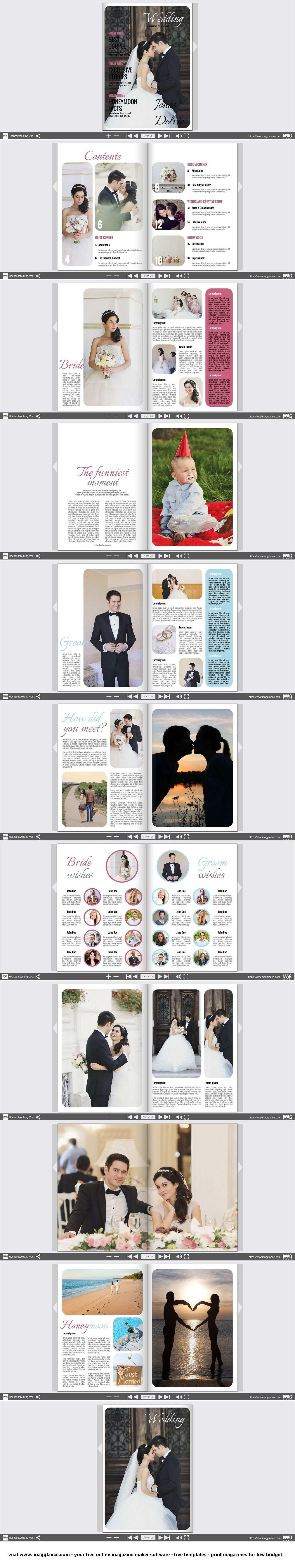 Hochzeitszeitung Kostenlos Online Erstellen Und Gunstig Drucken Unter Https De Magglance Com Hochze Hochzeitszeitung Trauzeugin Hochzeit Hochzeitszeitschrift