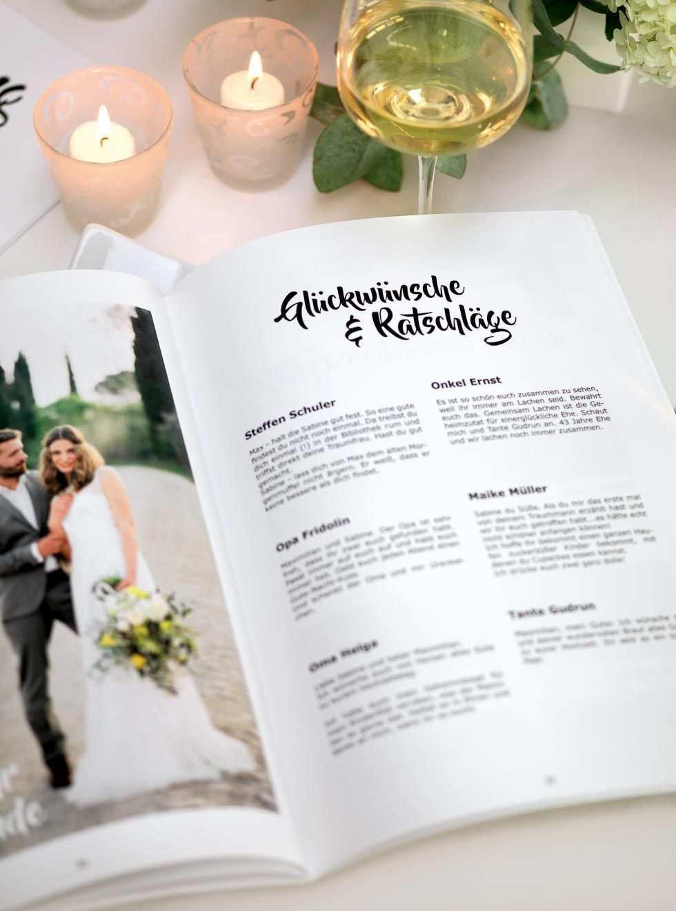 Hochzeitszeitung Vorlage Professionelles Magazin In Word Gestalten Hochzeitszeitung Hochzeit Hochzeit Broschure