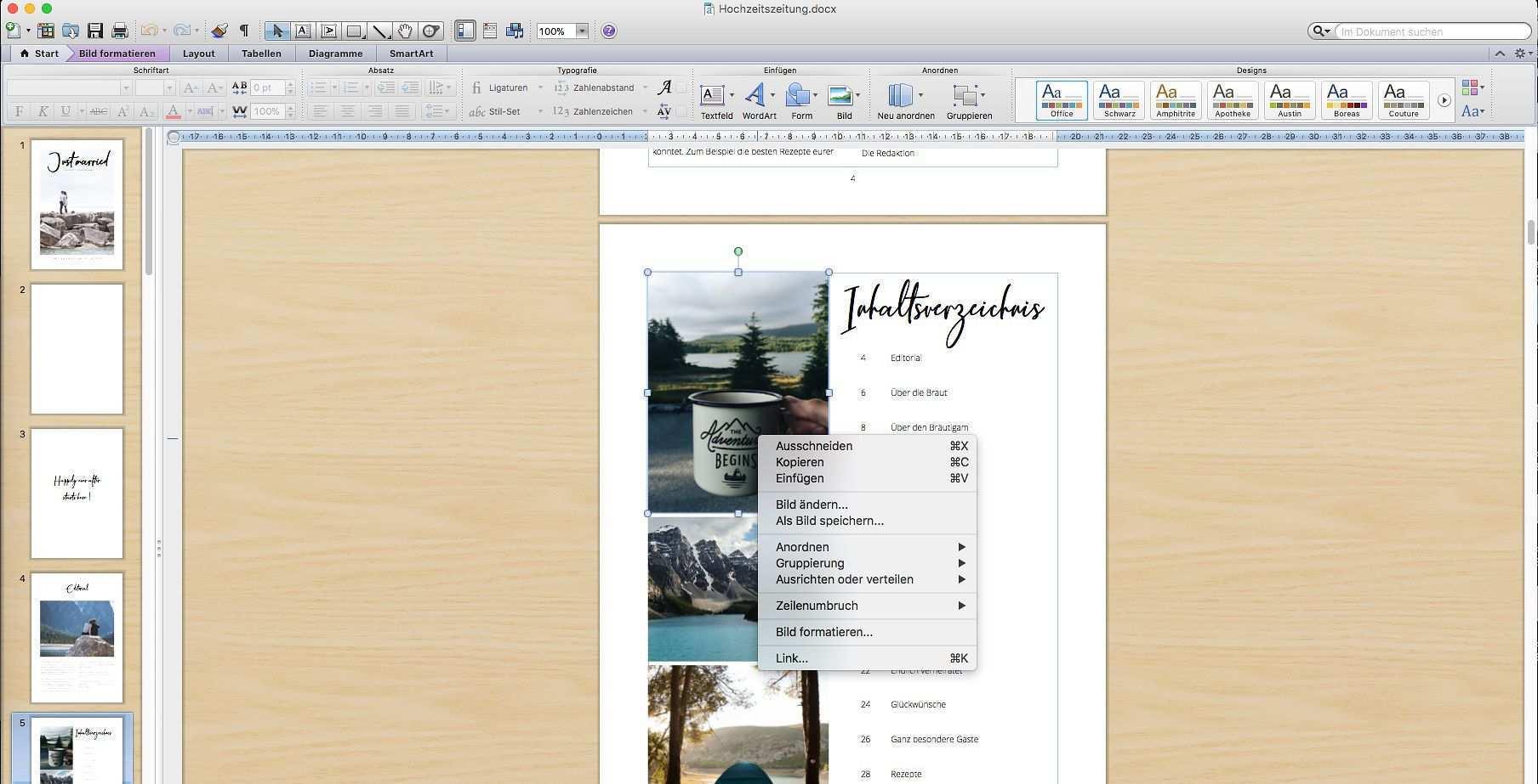 Hochzeitszeitung Vorlage Professionelles Magazin In Word Gestalten In 2020 Hochzeitszeitung Hochzeitszeitung Gestalten Hochzeitszeitung Ideen