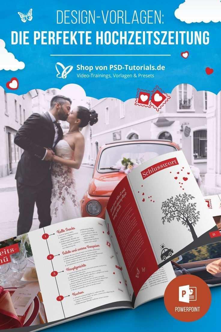 Hochzeitszeitung Vorlagen Fur Powerpoint Hochzeitszeitung Hochzeitszeitung Ideen Hochzeitsdetails