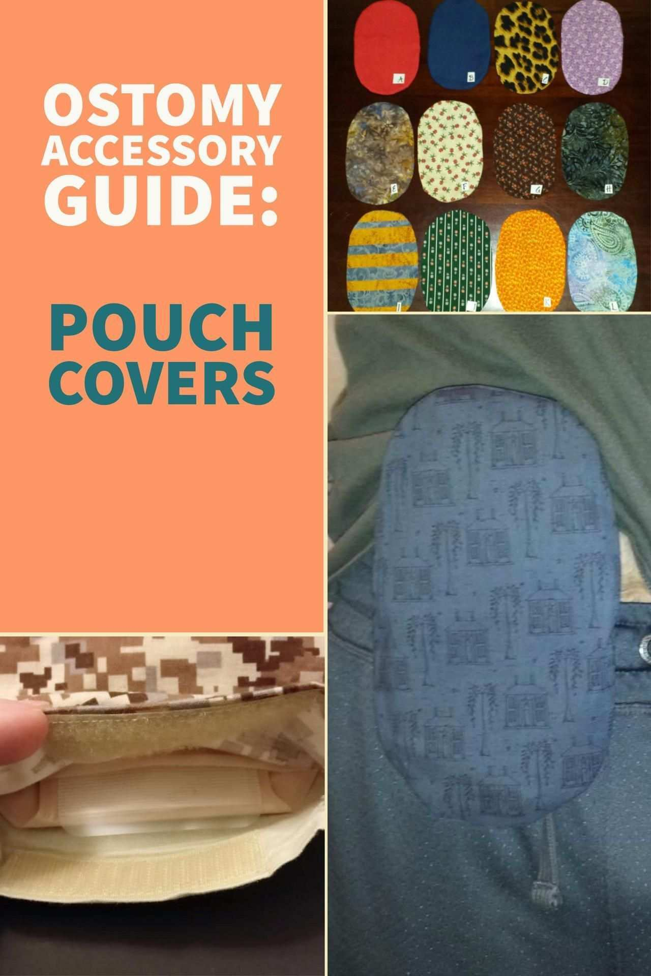 Ostomy Accessories Guide Pouch Covers Veganostomy Colostomy Bag Covers Ostomy Ileostomy Bag