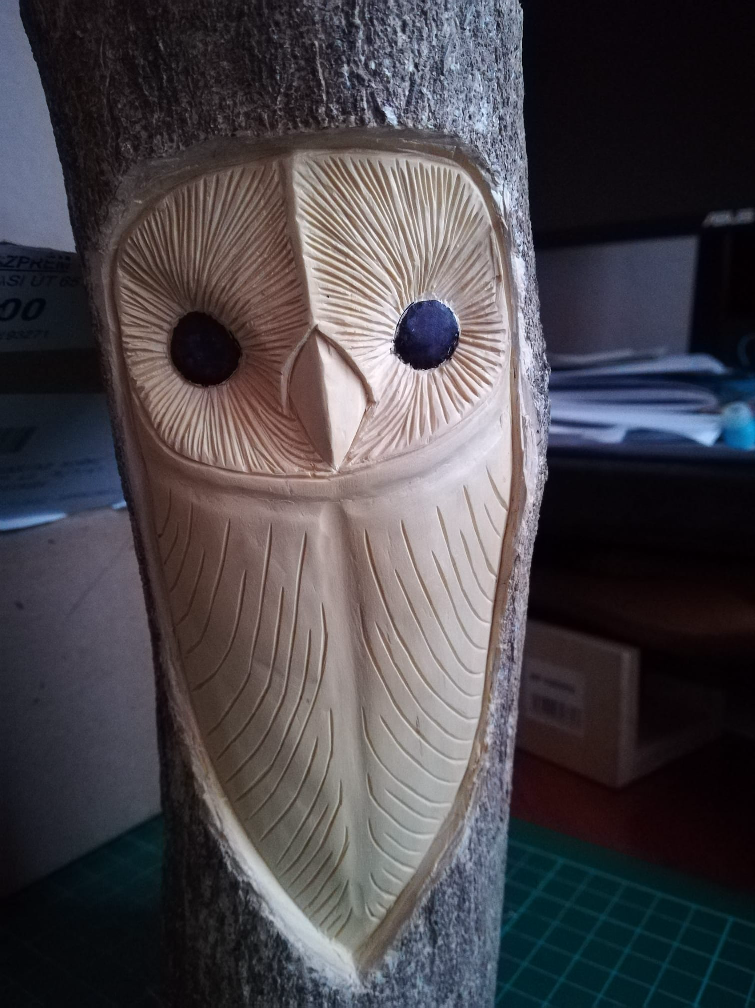 Woodspirit Woodcarvings By Ven Zsolt Holz Schnitzen Dremel Holzschnitzerei Holzschnitzerei