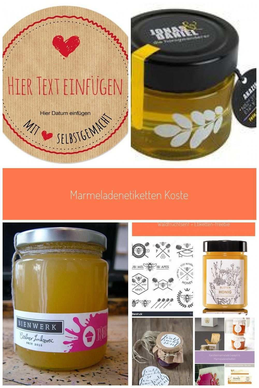 Marmeladenetiketten Kostenlose Vorlagen Honig Etiketten In 2020 Marmeladen Etikett Marmeladenetiketten Etiketten