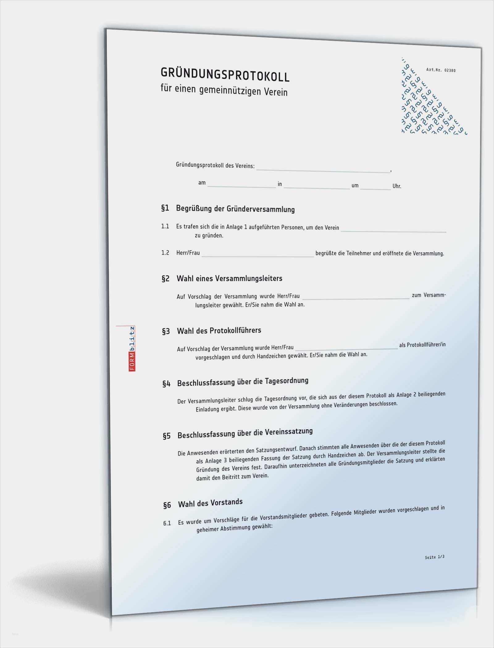 21 Gut Wahlprotokoll Verein Vorlage Abbildung Vorlagen Word Vorlagen Excel Vorlage