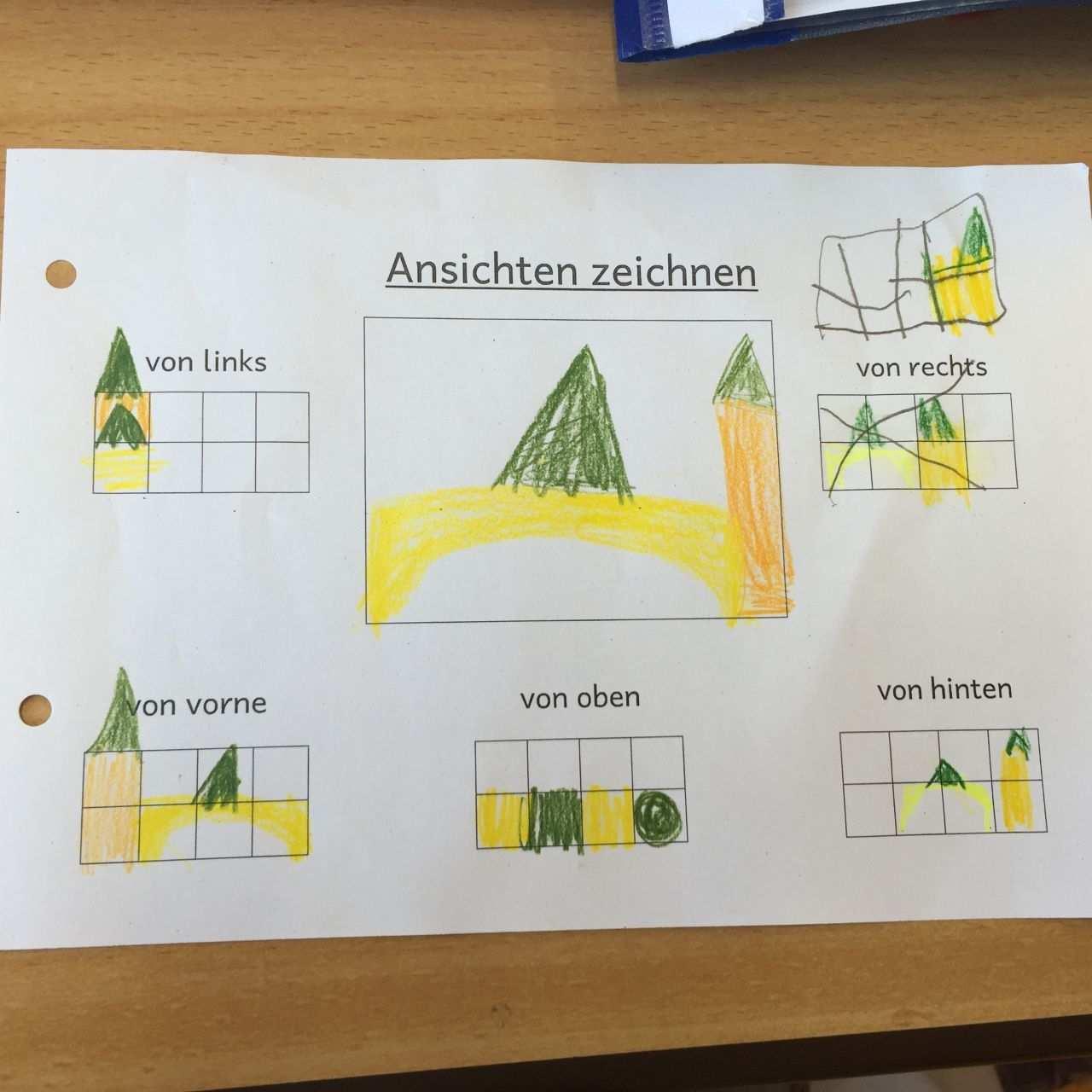 Wir Bauen Kleine Wurfelgebaude Carl Von Linne Schule Wurfelgebaude Matheunterricht Schulideen