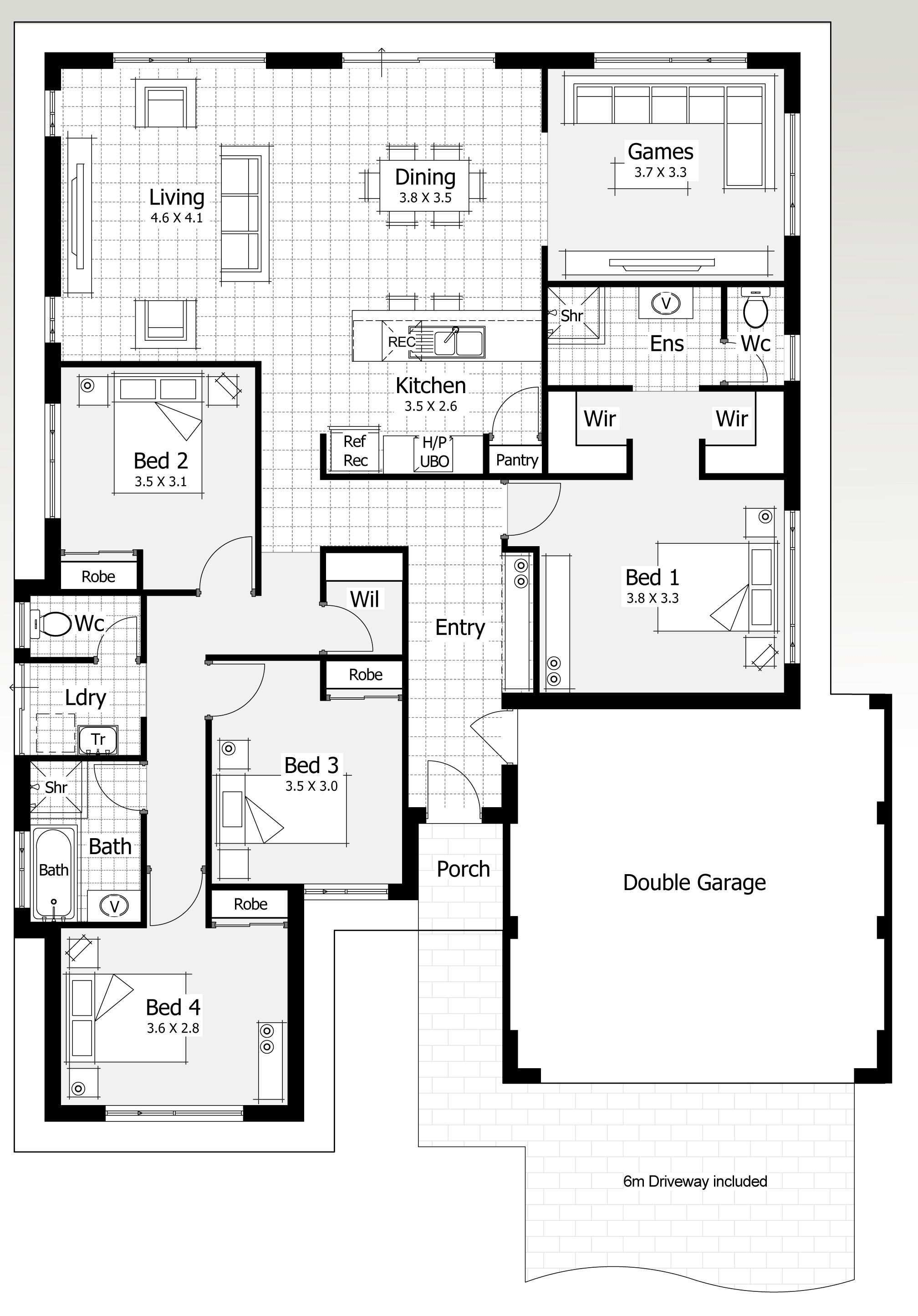 14 16m Monterey 2 Jpg 2016 2889 Modern House Plans Best House Plans 4 Bedroom House Plans